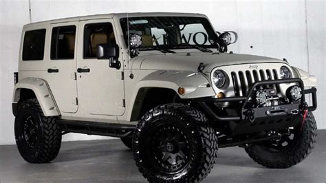 custom  jeep wrangler unlimited  starwood custom