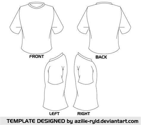 sleeve t shirt template http www 123freevectors blank tshirt template vector front and back blank tshirt template