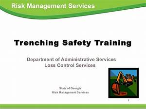 Trenching Safety Training by State of Georgia