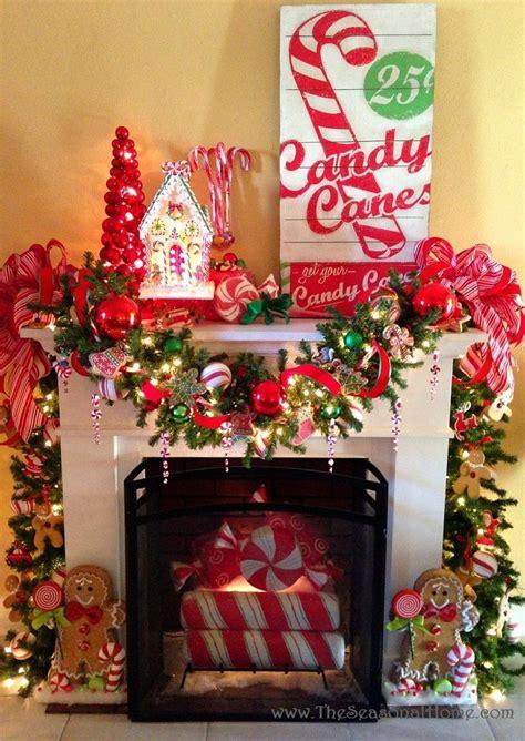 ideas  christmas fireplace  pinterest