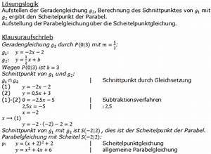 Parabel Steigung Berechnen : gerade parabel pflichtteilaufgaben realschulabschluss ~ Themetempest.com Abrechnung