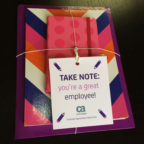 gifts to employees quotes christmas quot take note you re a great employee quot notebook set easy and inexpensive employee