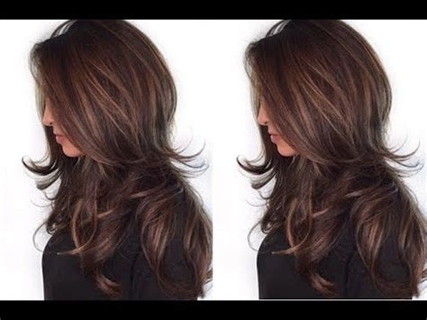 quick  easy long layered haircut tutorial