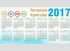 Template Kalender 2017 Cdr Corel draw Fadhil Design