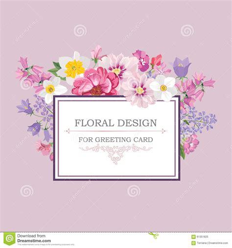 floral background flower bouquet vintage cover flourish