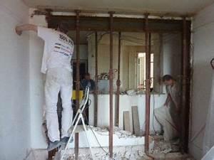 Ouverture Dans Un Mur Porteur : ouverture mur porteur portique 6 deco mur porteur ~ Melissatoandfro.com Idées de Décoration