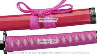 Pink Classic Dragon Japanese Samurai Katana Sword Cosplay
