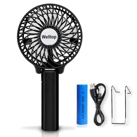 handheld battery operated mini fans welltop portable handheld fan usb mini fan battery