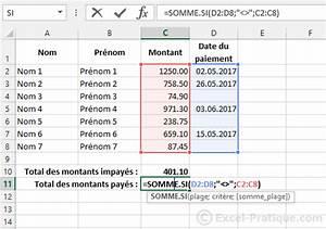 Formule Si Excel : fonction excel somme si ~ Medecine-chirurgie-esthetiques.com Avis de Voitures