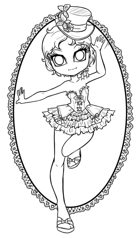 Lineart commission for She's a cherry blossom fairy! Teehee! My sister gave me the idea of
