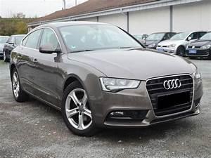 Audi Occasion Collaborateur : audi a5 sportback 2 0 tdi 177 diesel occasion de couleur gris mtallise en vente chez le ~ Gottalentnigeria.com Avis de Voitures
