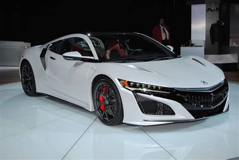2017 Honda Nsx Priced From £130,000 In The Uk