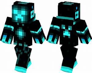 Creeper Azul | Minecraft Skin | Minecraft Hub
