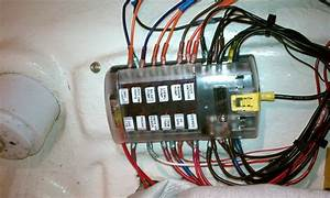 Electrical Rewire-fuse Panel - Sea Hunt Boats