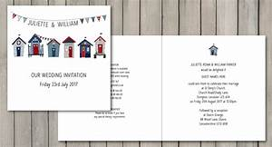 beach hut wedding stationery paperchain wedding stationery With wedding invitations beach hut