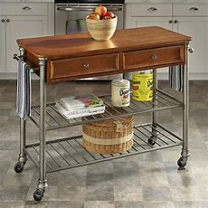 Home Styles The Orleans Kitchen Cart  Kitchen Islands And