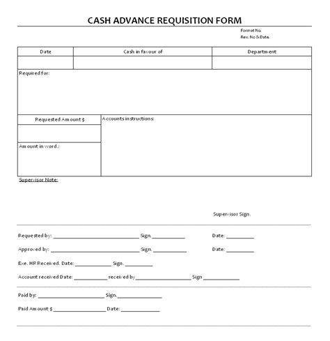 20026 employee advance form advance form template free chlain