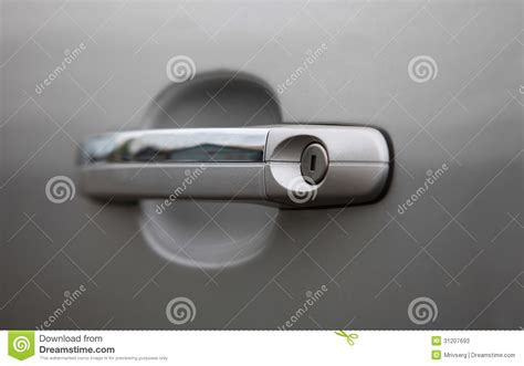 Car Door Handle Stock Image. Image Of Macro, Harmony