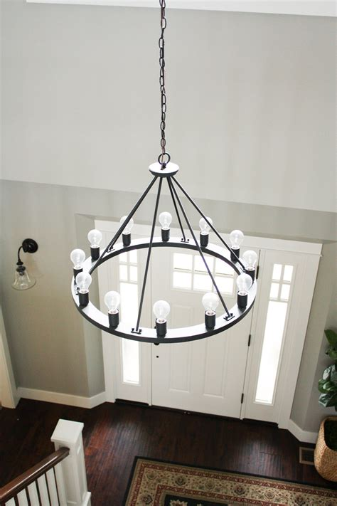 house update farmhouse chandeliers light fixtures