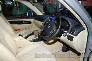 Ssangyong Rexton 2.0L interior at Auto Expo 2014 - Indian ...