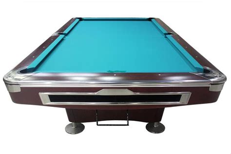 pool tables with ball return for sale factory price solid wood ball return system 9ft pool table