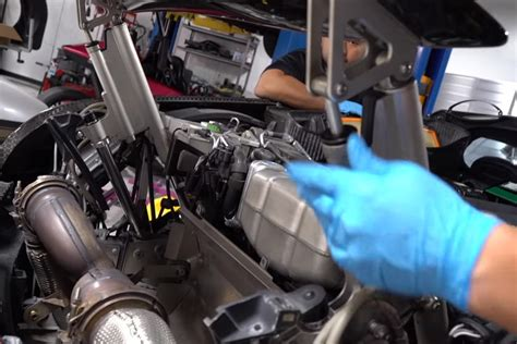 Bugatti chiron is the fastest car of the world with 304 mph and yet this makes it one of the expensive and exotic cars of the world yet created. Regular Bugatti Veyron Maintenance Work Is Insanely ...