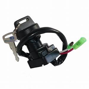 Ignition Key Switch For Kawasaki Lakota Sport Kef300 2001
