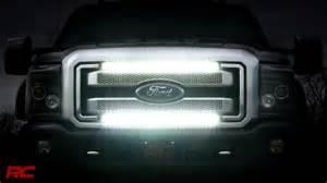 Strobe Light Bar For Trucks by 2011 2016 Ford Super Duty Grille Mount Light Bar Kit By