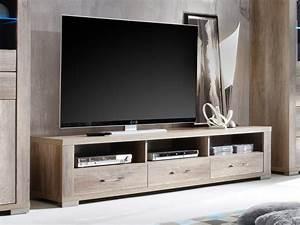 Tv Lowboard Mit Tv Halterung : tv schrank fernsehschrank lowboard 192cm wildeiche 192cm ~ Michelbontemps.com Haus und Dekorationen