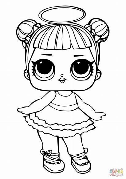 Coloring Lol Doll Pages Sugar Printable Drawing