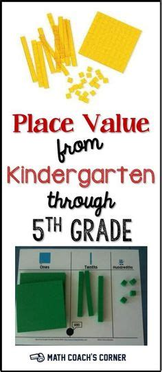 place  images place values elementary math