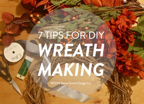 how to decorate a wreath fall style 7 tips for diy wreath making stevie storck