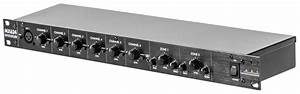 Art Mx624 1ru 6 Channel Stereo Zone Mixer With 2 Zone