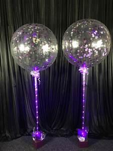 jumbo helium filled confetti balloon