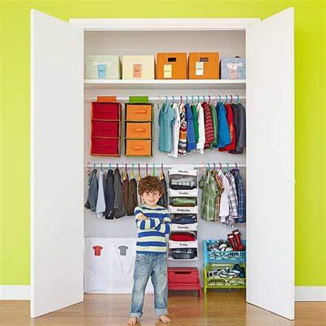 Kid Closet Organizer - simple ways to make your child s closet