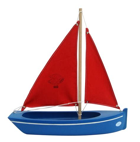 Sailing Boat Toy small toy blue boat handmade wooden toy boat for all