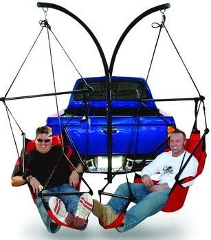 Trailer Hitch Hanging Chairs by Hammaka Trailer Hitch Dual Hammock Chair Stand