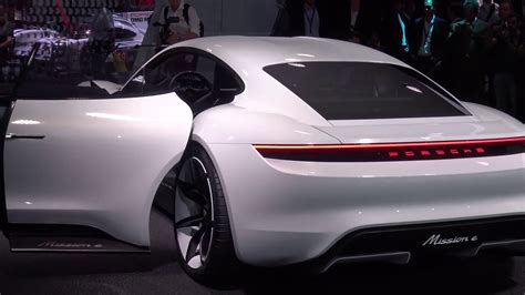 porsche  hp  electric sports car   youtube
