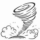 Tornado Coloring Template Ecosystem Think Sketch sketch template
