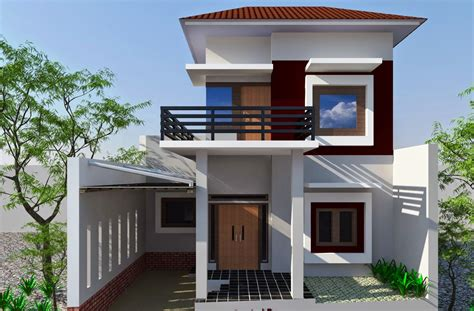 12 Gambar Rumah Bagus Sederhana Tapi Elegan  Desain Rumah