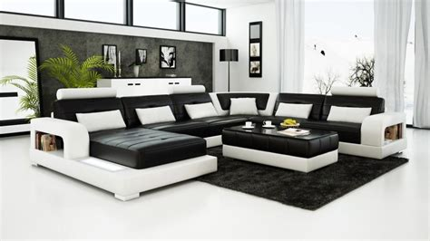 black and white sofa and loveseat black and white leather sofa set for a modern living room