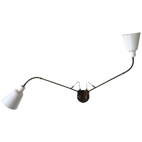 arredoluce adjustable two arm wall l by angelo lelii at