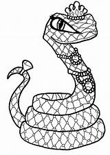 Snake Coloring Tulamama Monster Dinosaur Printable Printables Catty Noir Colouring Nile Cleo Drawing sketch template
