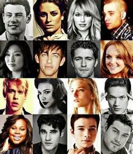 Glee Cast Members Names