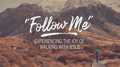 Follow Jesus Walking Joy Experiencing Walk Course