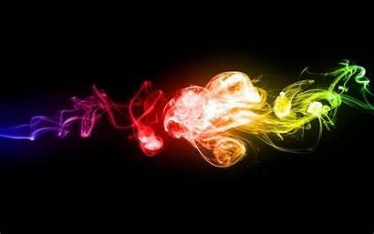 Smoke Colorful Wallpapers Backgrounds Desktop Digital Colored