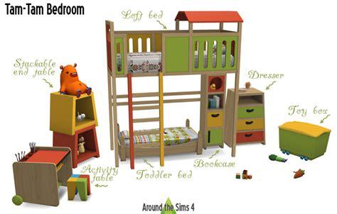 toddler boy bedroom sets around the sims 4 custom content tam tam kid