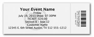 Ticket Stubs Templates - FREE DOWNLOAD - Aashe