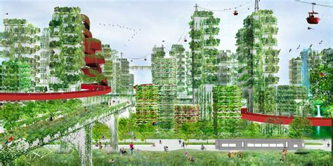 From Polluted Metropolis To Forest City