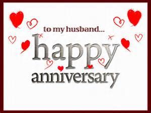 Happy Anniversary to My Husband Card